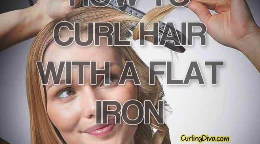 10 Tutorials that Show You How to Curl Hair with a flat iron
