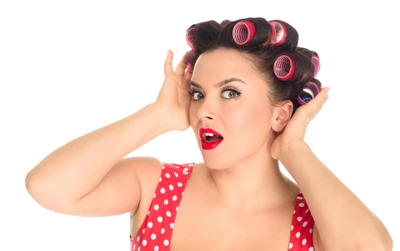 How To Put Rollers In Short Hair For Volume Curling Diva