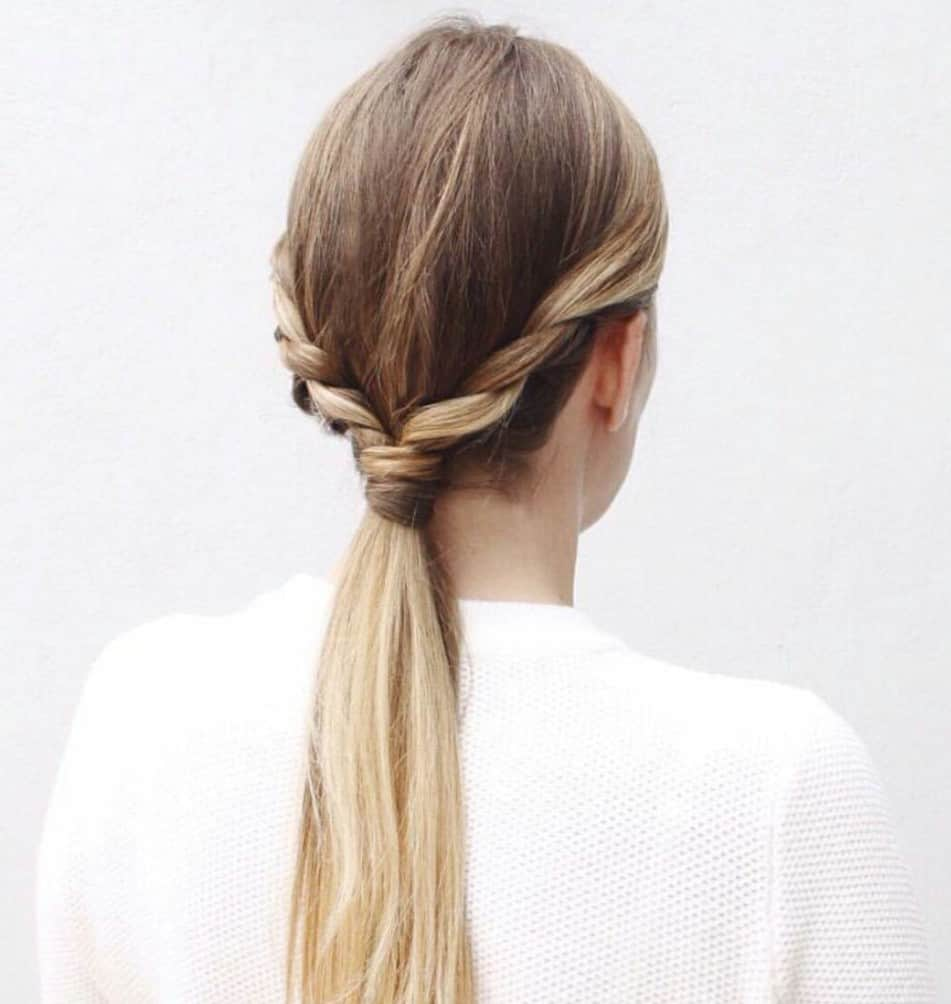 10 Different Ways To Put Your Hair Up In A Ponytail