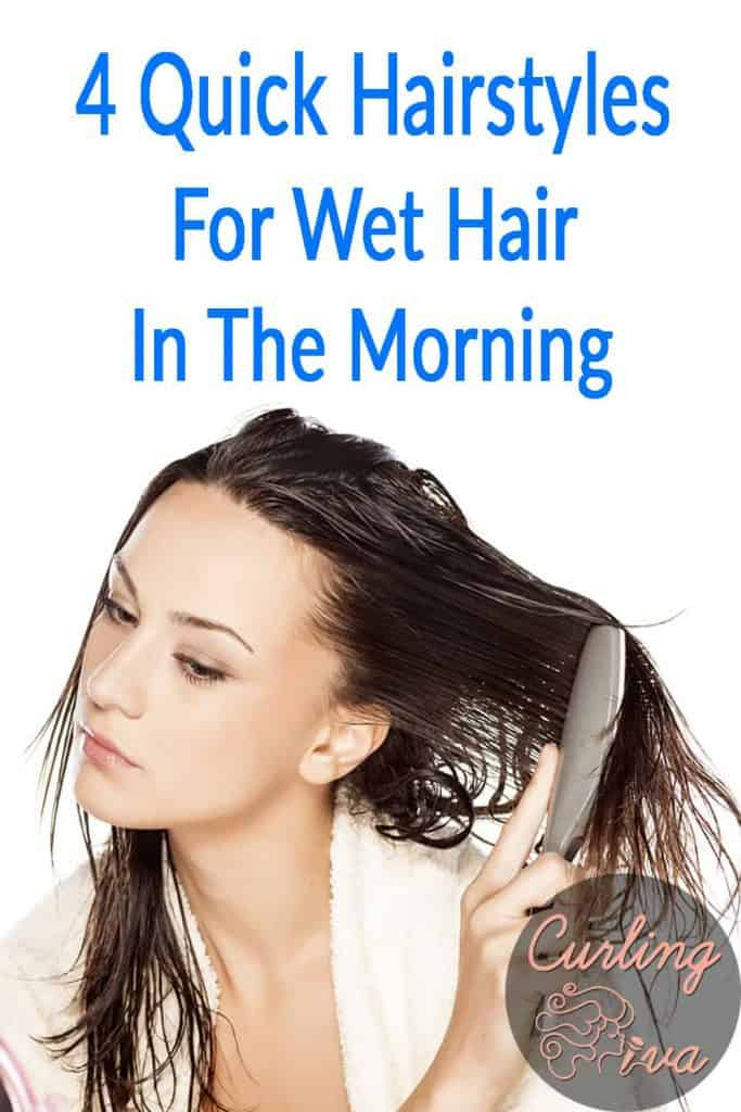 PIN for Quick Hairstyles For Wet Hair In The Morning