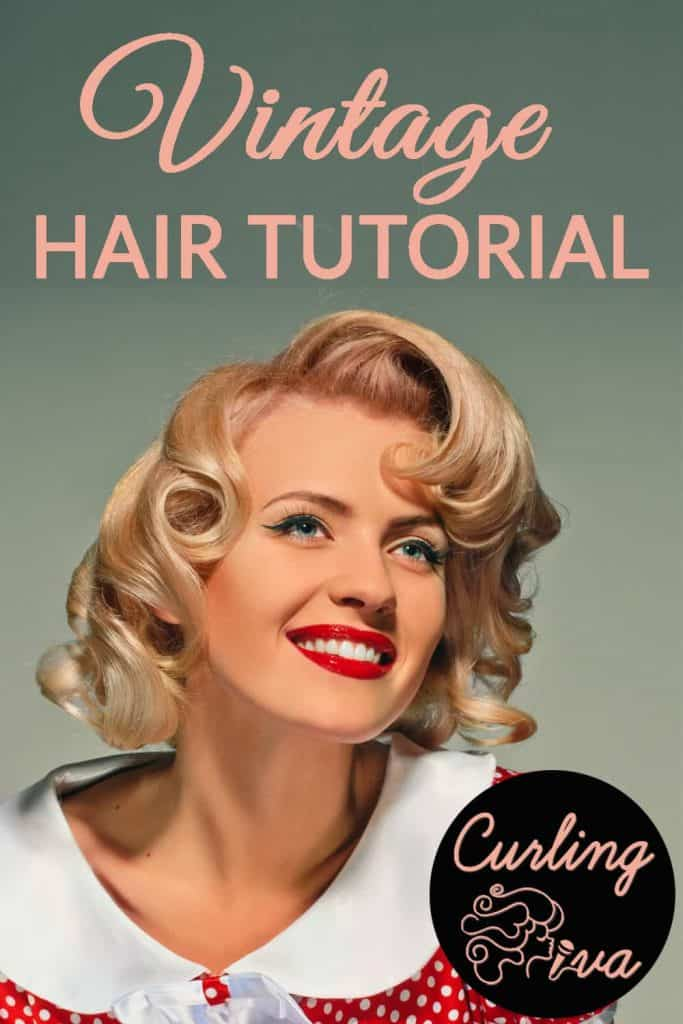 PIN for Vintage Hair Tutorial