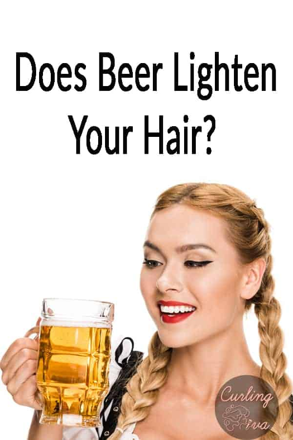 PIN for Does beer lighten your hair