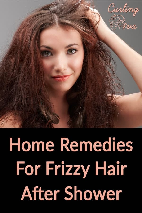 PIN for Home Remedies For Frizzy Hair After Shower