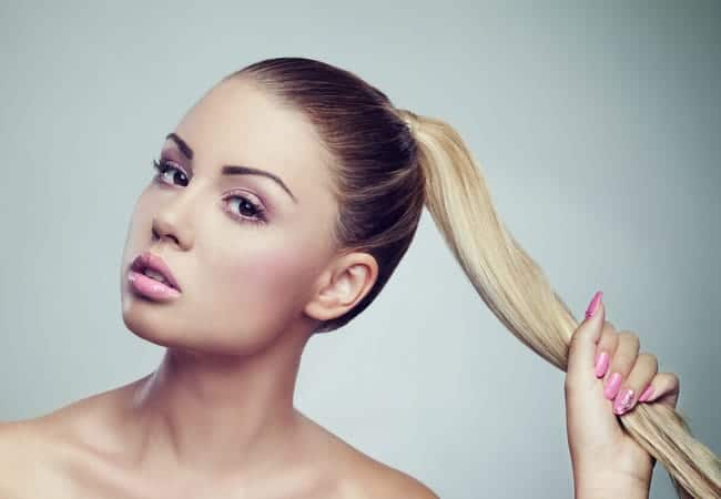 How to Repair Hair Breakage from Ponytails