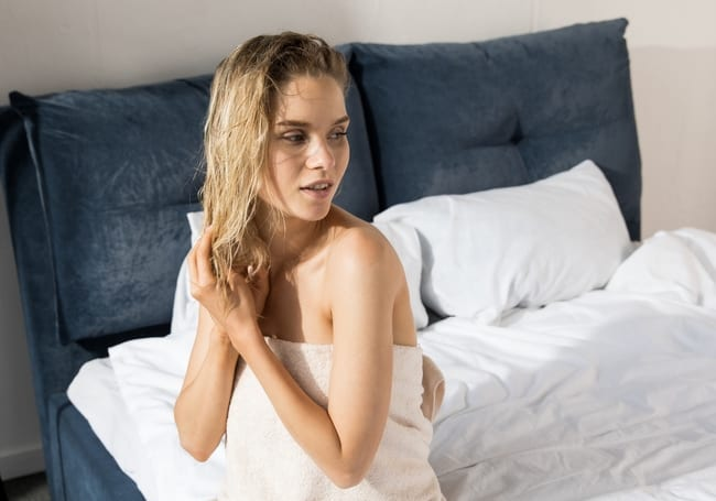 5 Myths About Sleeping with Wet Hair