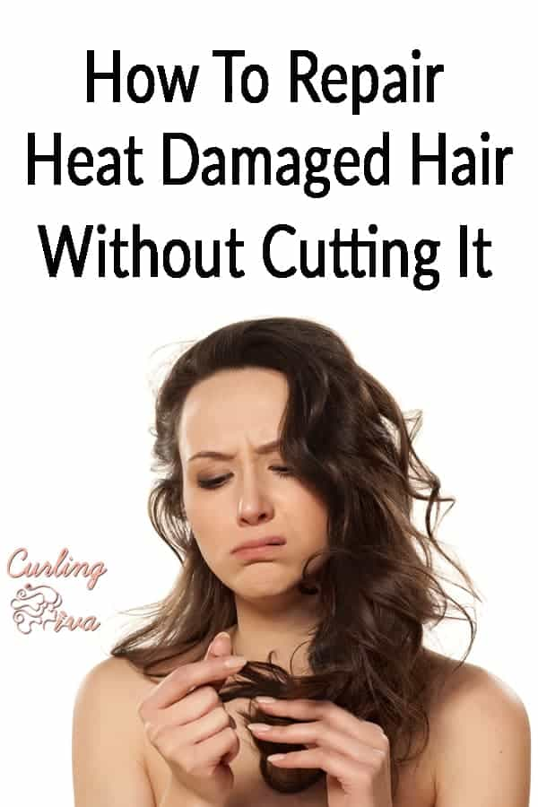 PIN for How To Repair Heat Damaged Hair Without Cutting It