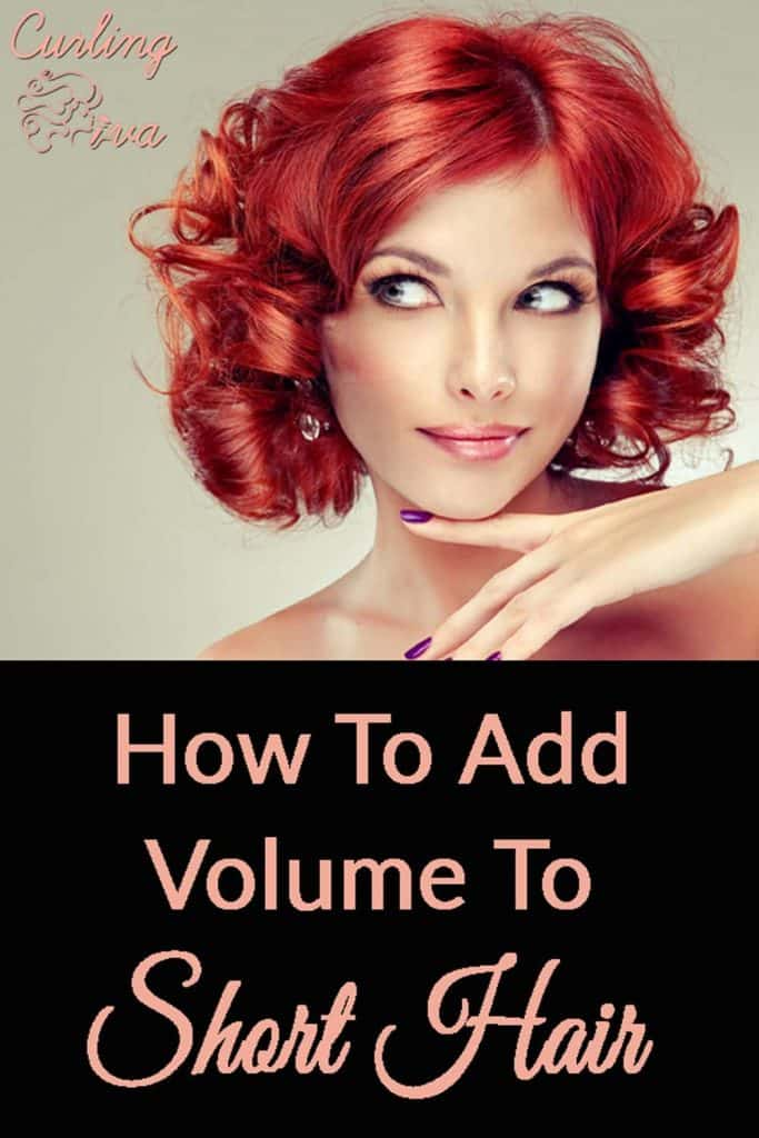 PIN For How To Add Volume To Short Hair