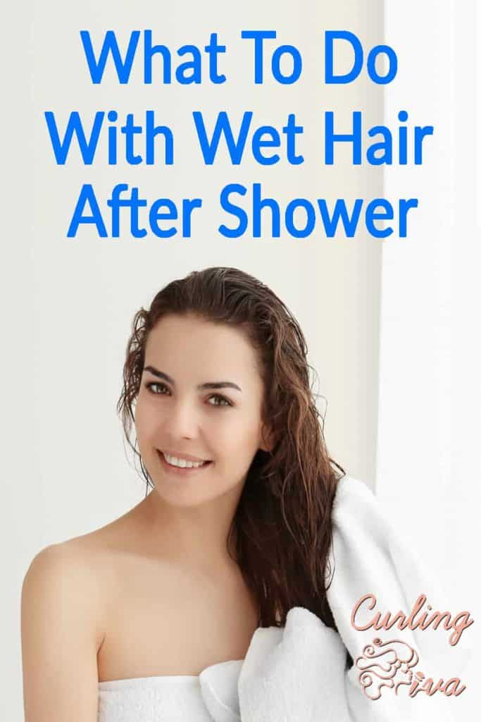 PIN for What To Do With Wet Hair After Shower